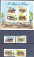 1987. Kiribati, Reptilies/Skinks, 4v + S/s, Mint/** - Kiribati (1979-...)