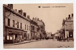 - CPA COMMENTRY (03) - Rue Christophe-Thivrier (avec Personnages) - Photo CIM N° 63 - - Commentry