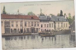 Vilvoorde - Auberge 3 Fontaines (gekleurde En Gelopen Kaart Met Zegel) - Vilvoorde