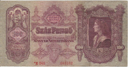 Hungary 100 Korona 1932 Pick 112 Fine - Hungary