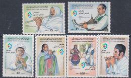 Libye N° 1112 / 17 XX 21è Foire Internationale De Tripoli , La Série Des 6 Valeurs Sans Charnière, TB - Libyen