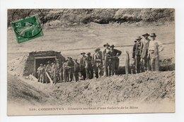 - CPA COMMENTRY (03) - Mineurs Sortant D'une Galerie De La Mine 1913 (belle Animation) - Edition Chaumont 259 - - Commentry