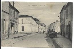 17-SOUBISE-Grande Rue...1925  Animé  Coiffeur - France
