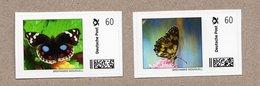 "BRD ""Marke Individuell"" - 2 W - Schmetterlinge Butterfly Papillon - Papillons"