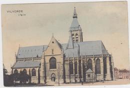 Vilvoorde - Kerk (gekleurde En Gelopen Kaart Zonder Zegel) - Vilvoorde