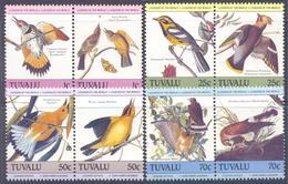 1985. Tuvalu, Audubon, Birds, 8v, Mint/** - Tuvalu