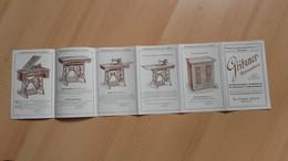 Gritzner-Nahmaschinen.Durlach,Baden.Em.Fischer,Zagreb.Jurisiceva 6 - Seals Of Generality