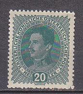 K3244 - AUSTRIA Yv N°163 * - 1850-1918 Imperium