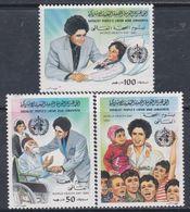 Libye N° 1136 / 38 XX Journée Mondial De La Santé, Les 3 Valeurs  Sans Charnière, TB - Libyen