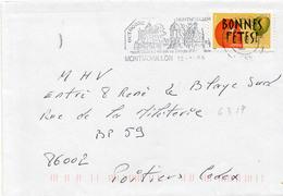 N° 4317 Adh Y. Et T. Vienne Montmorillon Flamme Illustrée Du 12/01/2009 - Marcofilia (sobres)