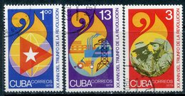 Y85 CUBA 1979 2363-2365 20th Anniversary Of The Cuban Revolution - Cuba