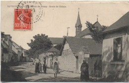37 SAVIGNY  Entrée Du Bourg - Route De Chinon - Sonstige Gemeinden