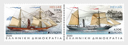 Griekenland / Greece - Postfris / MNH - Complete Set Europa, Oude Postroutes 2020 - Grecia