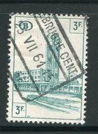 BELGIQUE- Colis Postaux Y&T N°338- Oblitéré - Ferrocarril