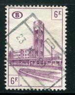 BELGIQUE- Colis Postaux Y&T N°341- Oblitéré - Ferrocarril