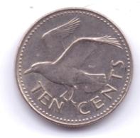 BARBADOS 1987: 10 Cents, KM 12 - Barbades