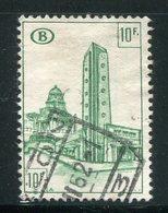 BELGIQUE- Colis Postaux Y&T N°345- Oblitéré - Ferrocarril