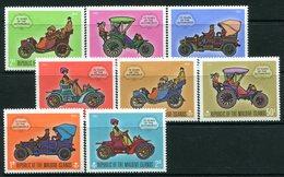 Maldive Islands 1970 75 Years Of The Automobile Set HM (SG 318-325) - Maldivas (1965-...)
