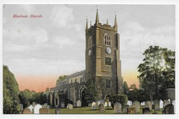BLUNHAM Church - Angleterre