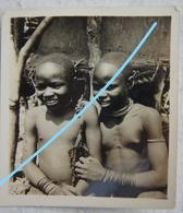 Photo CONGO Kongo Circa 1930 Jeunes Enfants Afrique Afrika Africa - Afrique