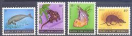1980. Papua New Guinea, Wild Life, Mammals, 4v, Mint/** - Papua-Neuguinea