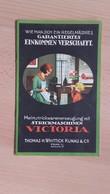 VICTORIA.Strick-Maschinen.THOMAS H.WHITTICK KUNAU&Co.PRAG(PRAHA) - Seals Of Generality