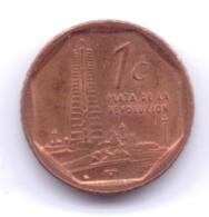 CUBA 2007: 1 Centavo, KM 729 - Cuba