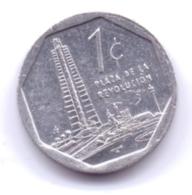 CUBA 2001: 1 Centavo, KM 33 - Cuba