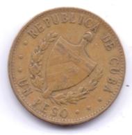 CUBA 1983: 1 Peso, KM 105 - Cuba