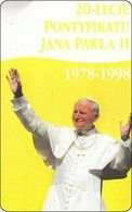 Polen Phonecard Papst, Pope - Personen
