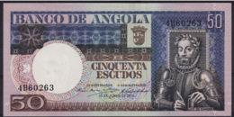 Ref. 3404-3827 - BIN ANGOLA . 1973. ANGOLA 50 ESCUDOS 1973 - Angola