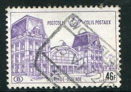 BELGIQUE- Colis Postaux Y&T N°410- Oblitéré - Railway