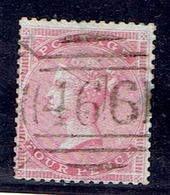 "TP GRANDE BRETAGNE N° 17""a"" - Moyenne Jarretière -  Oblitéré - TB - 1840-1901 (Victoria)"