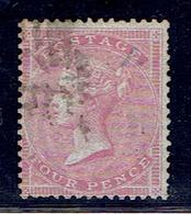 TP GRANDE BRETAGNE N° 16 - Petite Jarretière -  Oblitéré - TB - 1840-1901 (Victoria)