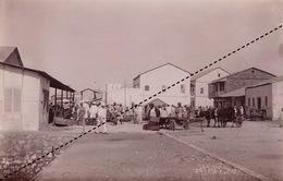 1902 Belle Photo De Madagascar Vue De Majunga Provenance Maison Garnier 17x11cm - Places