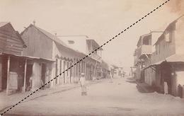 1902 Belle Photo De Madagascar Vue De Majunga Provenance Maison Garnier 17x11cm - Lieux