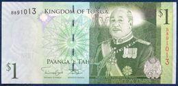 TONGA 1 PA'ANGA PAANGA P-37b 2009 UNC - Tonga