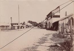 1902 Belle Photo De Madagascar Vue De Majunga Provenance Maison Garnier 17x12cm - Places