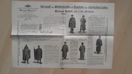 HOF-TUCHHANDLUNG RICHARD ROLLETT,Graz.Versandt Von Wetternatel Und Haveloks Aus Steirischen Loden - Seals Of Generality