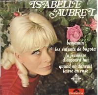 "EP 45 RPM (7"") Isabelle Aubret "" Benjamin "" - Vinyl Records"
