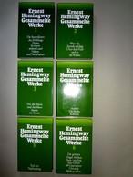 """ERNEST Hemingway """"Gesammelte WERKE"""" In 6 Bänden, 1. Auflage 1977, TOP-Zustand! - Original Editions"""