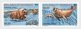 Groenland / Greenland - Postfris / MNH - Complete Set Norden, Zoogdieren 2020 - Groenlandia