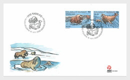 Groenland / Greenland - Postfris / MNH - FDC Norden, Zoogdieren 2020 - Groenlandia