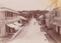 1902 Belle Photo De Madagascar Vue Vue De Majunga Provenance Maison Garnier 24x17cm - Places