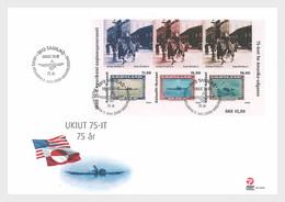 Groenland / Greenland - Postfris / MNH - FDC Sheet 75 Jaar Amerikaanse Postzegel 2020 - Groenlandia