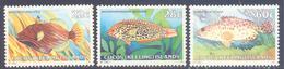 1980. Cocos(Keeling) Islands, Tropical Fishes, 3v, Mint/** - Kokosinseln (Keeling Islands)