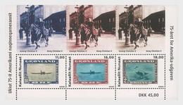 Groenland / Greenland - Postfris / MNH - Sheet 75 Jaar Amerikaanse Postzegel 2020 - Groenlandia