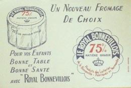Buvard-ROYAL BONNEVOIS-Fromagerie-174 - Papel Secante