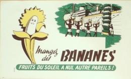 Buvard-BANANES-203 - Buvards, Protège-cahiers Illustrés