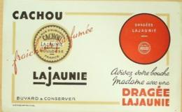 Buvard-LAJAUNIE-Cachou, Dragée-207 - Papel Secante